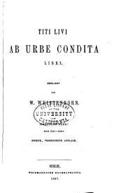 Tite Livi Ab urbe condita libri: Bände 7-8