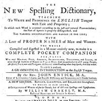 The New Spelling Dictionary  Teaching to Write and Pronounce the English Tongue     To which is Prefixed  a Grammatical Introduction     A New Edition  Revised  Corrected  and Enlarged Throughout  To which is     Added  A Catalogue of Words of Similar Sounds     By William Crakelt PDF