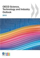 OECD Science  Technology and Industry Outlook 2010 PDF