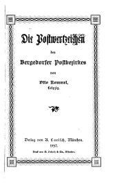 Die Postwertzeichen des Bergedorfer Postbezirkes
