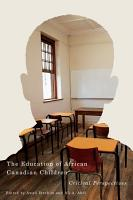Education of African Canadian Children PDF