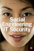 Social Engineering in IT Security  Tools  Tactics  and Techniques PDF