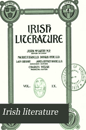 Irish Literature: Volume 9