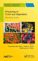 Processing of Fruits and Vegetables PDF
