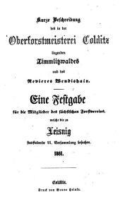 Jahresbericht des Sächsischen Forstvereins: Bände 11-15