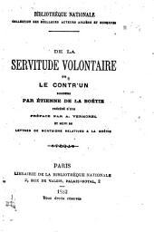 De la servitude volontaire