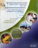 Acuerdos ministeriales hemisféricos 2001 y 2003