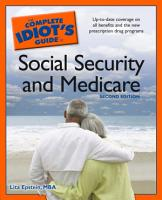 The Complete Idiot s Guide to Social Security And Medicare 2e PDF
