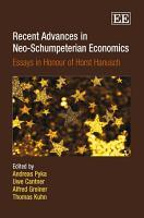 Recent Advances in Neo Schumpeterian Economics PDF