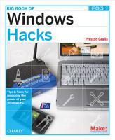 Big Book of Windows Hacks PDF