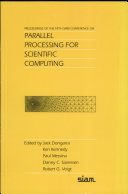 Proceedings of the Fifth SIAM Conference on Parallel Processing for Scientific Computing