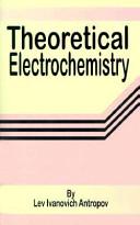 Theoretical Electrochemistry