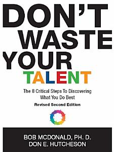 Don t Waste Your Talent Book