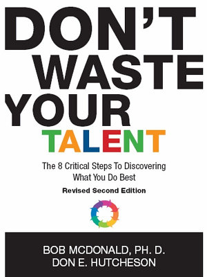 Don t Waste Your Talent