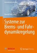 Systeme zur Brems  und Fahrdynamikregelung PDF