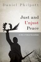 Just and Unjust Peace PDF