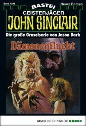 John Sinclair - Folge 1218: Dämonenflucht