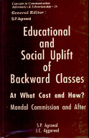 Educational and Social Uplift of Backward Classes PDF