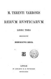 Rerum rusticarum libri tres