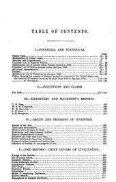 Report of the Commissioner of Patents