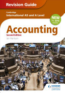 Cambridge International As A Level Accounting Revision Guide PDF