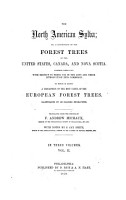 The North American Sylva  Or  a Description of the Forest Trees of the United States  Canada  and Nova Scotia PDF