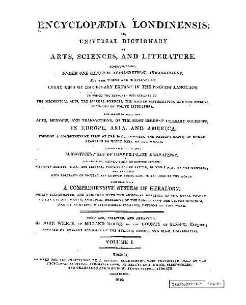 Download Encyclopaedia Londinensis Book