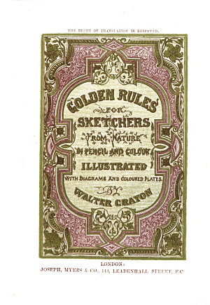 Golden rules for sketchers from nature in pencil and colour