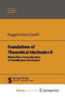 Foundations of Theoretical Mechanics II