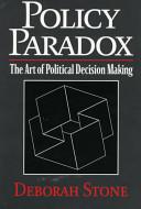 Policy Paradox Book PDF