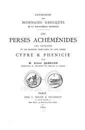 Catalogue des monnaies grecques de la Bibliothèque Nationale ...