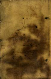 Rerum chymicarum epistolica forma ad philosophos et medicos quosdam in Germania excellentes descriptarum liber primus, in quo tum rerum quarundam naturalium continentur explicationes ingeniosae ...