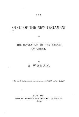 Spirit In The New Testament