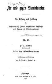 Ueber den Skandinavismus