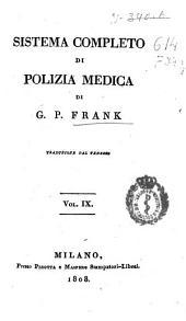 Sistema completo di polizia medica: Volume 9