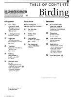 Birding PDF