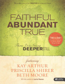 Faithful Abundant True Dvd Leader Kit