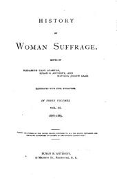 History of Woman Suffrage: Volume 3