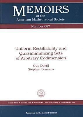 Uniform Rectifiability and Quasiminimizing Sets of Arbitrary Codimension PDF