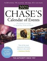 Chase s Calendar of Events 2021 PDF