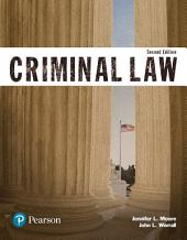 Criminal Law (Justice Series): Edition 2