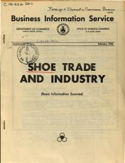 Shoe Trade and Industry PDF