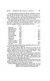 Journals of General Conventions: 1823-1835