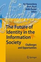 The Future of Identity in the Information Society PDF