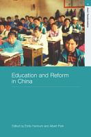 Education and Reform in China PDF