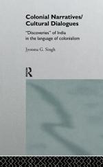 Colonial Narratives/cultural Dialogues