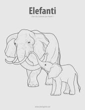 Elefanti Libro da Colorare per Adulti 1