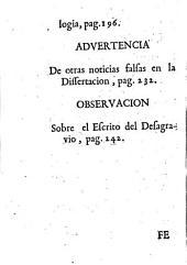 Verdad vindicada por ... Fr. Joseph Antonio Perez de Benitía ... contra las falsedades, ficciones y calumnias que contiene la Apologia critica del doctor Agustin Sales: parte I y II.