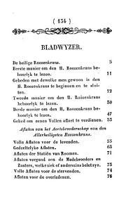 Handboeksken van den allerheiligsten Roozenkrans...