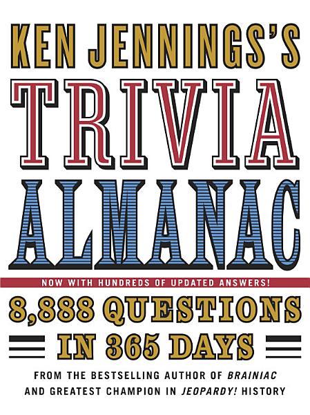 Download Ken Jennings s Trivia Almanac Book